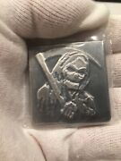 Yps 2018 Halloween Bar 4 Oz .999 Fine Yeager's Poured Silver Mintage 122