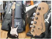 Fender Usa Vg Stratocaster Black Electric Guitar Shipped From Japan