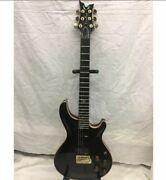 Dean Hard Tail Black Quilt Electric Guitar Made In Japan Jf0700384