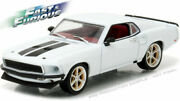 Greenlight 143 Fast And Furious - Roman's 1969 Ford Mustang - White - Diecast