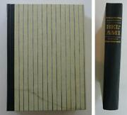 Bel-ami By Guy De Maupassant Heritage Press Paris 1800and039s Slipcover Hb 1968