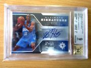 Dwight Howard Rc Upper Deck Ultimate 2004-05 Signatures Gold Auto 05/12 Bgs 9
