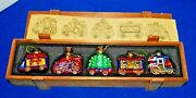 2003 T. Paconni Collection Glass Christmas Train Ornaments---only 1 On Ebay