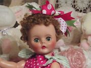 Vintage 1950and039s Heavy Vinyl Doll Large 20 Beautiful Eyes Nice Coloring So Cute