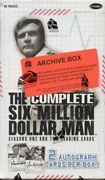 Six Million Dollar Man Complete Seasons One And Two Archive Card Box