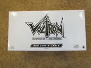 New Misb 2012 Voltron Club Red Lion And Lance Mattel Matty Collector Classic Force