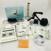 Canon Powershot Sd600 Digital Camera, 2 Batteries/charger, 2 Cases Tripod Sdcard