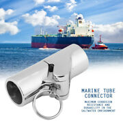 Boat Folding Swivel Coupling Tube Pipe Connector Marine Stainless Steel Fitting