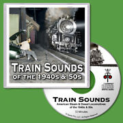 Train Sounds Cd Steam And Diesel Locomotives For N Scale Model Railroads