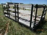 1950and039s60and039s Ford Script Stakebed With Stake Rackbed And Rack Will Need New Wood