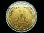 National Security Agency Nsa We Wonand039t Back Down Challenge Coin