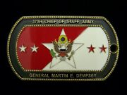 37th Army Chief Of Staff General Martin E. Dempsey Challenge Coin