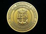 National Security Agency Nsa Css Command Master Chief Challenge Coin