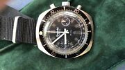 Vintage Collectable Watch Diver's Chrono Gigandet 70 Manual Valjoux 7733