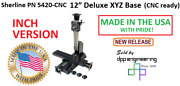 Sherline 5420-cnc Inch Version Cnc Ready 12andprime Xyz Base See 5430-cnc For Metric