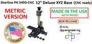 Sherline 5430-cnc Metric Version Cnc Ready 12andprime Xyz Base See 5420-cnc For Inch
