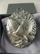 Buccellati Sterling Silver American Eagle Endangered Species Ornament New Mint