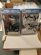 Redneck 1 Cgc 9.8 Silver And Gold Foil Set Both 1 Per Store Donny Cates Image