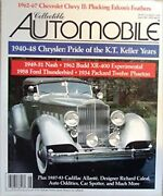 Collectible Automobile Magazine June 1993 Volume 10 Number 1 [single Issue ...