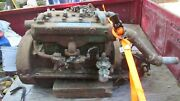 1940 Universal 25 Hp Marine Engine. Complete With Owners Manual. Antique Engine.
