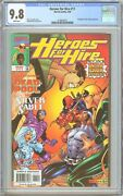 Heroes For Hire 11 Cgc 9.8 White Pages 1998 2140875017 Deadpool