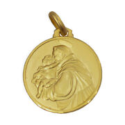 Gold Medal Of Saint Anthony Of Padua