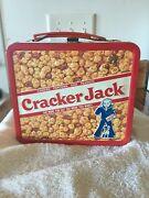 Vintage 1979 Metal Cracker Jack Lunchbox Includes Thermos