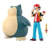 Pokemon Scale World Kanto Red And Snorlax Japan New 1/20 Scale Pocket