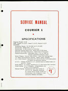 Eci Courier 1 23 Ch Cb Radio Original Factory Service Manual And Huge Schematic