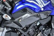 Mos Carbon Fiber Air Duct Covers For Yamaha Fz-07 Mt-07 2013-2017