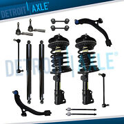 Front Strut Rear Shock Control Arm Kit For Chrysler Town And Country Dodge Caravan
