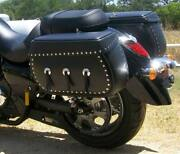 Leatherlyke Insulated Saddle Bags Honda Ace/shadow/ W/signal Relocation 320