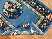 Antique Chinese Peking Rug Size 3and0393and039and039x5and0391and039and039