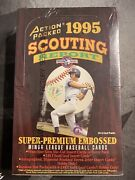 1995 Action Packed Scouting Report Super Premium Mlb Jeter Rc Rare Excellent
