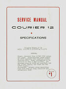 Copy Eci Courier Model 12 23 Channel Cb Radio Service Manual With Schematic
