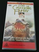 The Crocodile Hunter - Adventure One Parts 1 And 2 1995 - Vhs Tape Very Rare