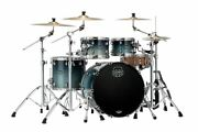 Mapex Saturn Drum Set Rock 22 4pc Shell Pack Teal Blue Fade Sr529xurj