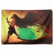 Rock Band Singer Retro Poster Canvas Painting Banner And Flag Wall Art Home Decor