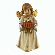 Wooden Perfume Angel Statue With The Rings