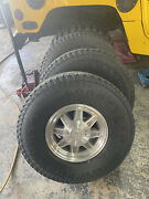 H1 Hummer Oem Humvee Wheels With Goodyear Wrangler Gs-a