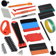 Car Wrapping Vinyl Tools Paint Protection Film Squeegee Felt Knife Tape Magnets