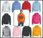 48 Printed Gildan Hoodies - One Side Only - One Color Print - Sm Thru Xl