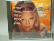 Extra Special By Peggy Lee 31 Track Limited Edition Cd Brand New Import