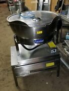 Cleveland Set15 Electric Kettleandtable,15 Gal- 100+ Avail- Single Or Three Phase