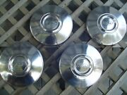 Vintage Ford Crown Victoria Police Pickup Truck Hubcaps Wheel Covers Center Caps