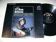 Don Gibson Too Much Hurt Us Original 1st Press.rca Victor Lsp Stereo Lp 1965