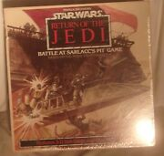 Star Wars Return Of The Jedi Battle At Sarlacc's Pit Game New Sealed Parker Bros