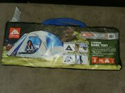 New Ozark Trail 4 Person Camping Outdoor Family Outings Picnic Hiking Dome Tent