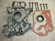 Corvair Otto Parts Hi-po Oil Pump In Housing Bead Blasted Both Gaskets Seal