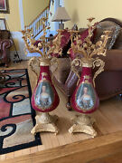 Victorian Style Candlestick Holder Holds 5 Candles